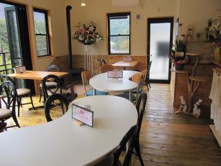 カフェ店内写真